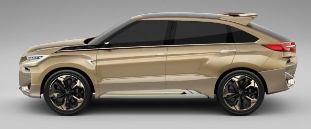 Honda Concept D profile