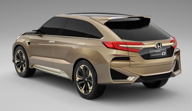 Honda Concept D rear