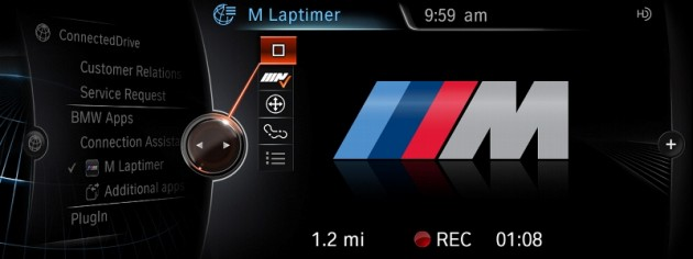 Hot New Apps for BMW ConnectedDrive and MINI Connected M Laptimer