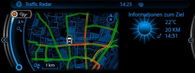 Hot New Apps for BMW ConnectedDrive and MINI Connected Traffic Radar