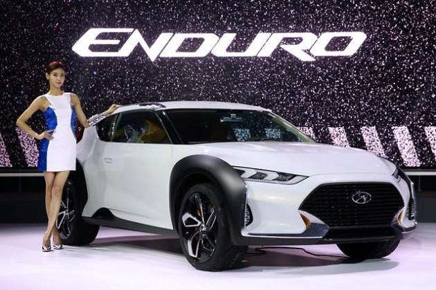 Hyundai Enduro CUV debut at 2015 Seoul Motor Show