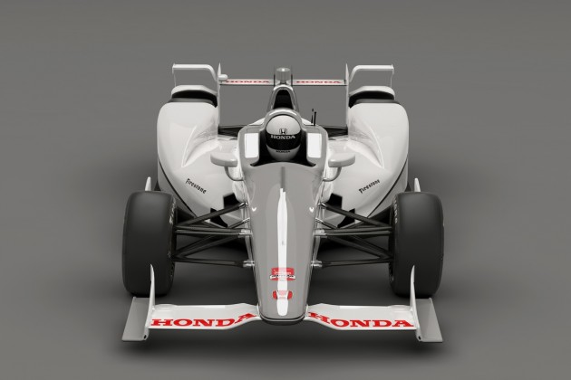 Honda's 2015 IndyCar Super Speedway Aero Kit