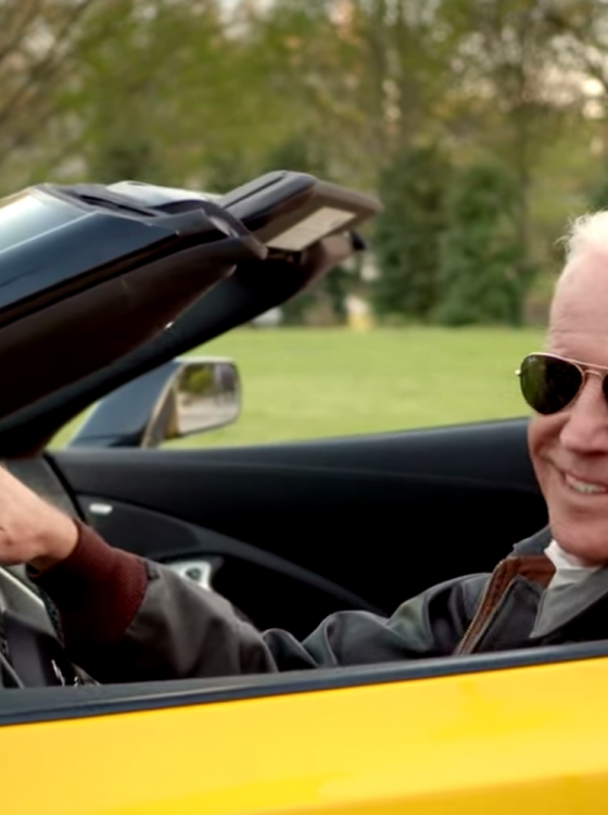 Joe Biden's Ridin' a C7 Corvette Stingray on New Bumper ...