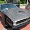 Letty 1970 Plymouth Barracuda Cuda black Fast and Furious 7 movie film car front