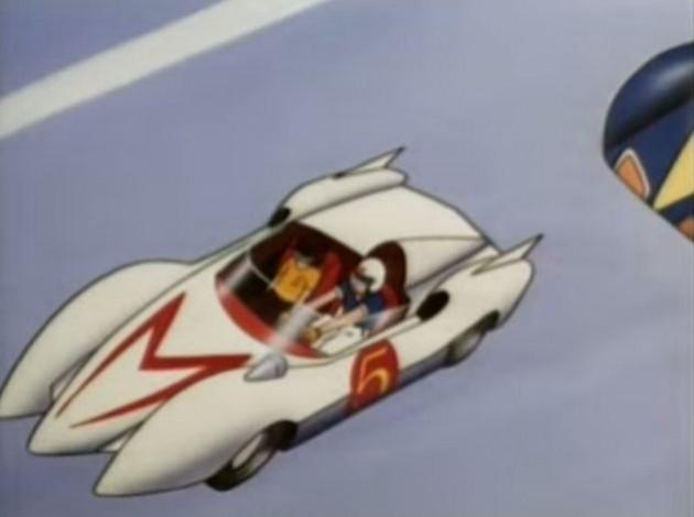 Cartoon Cars - Mach 5