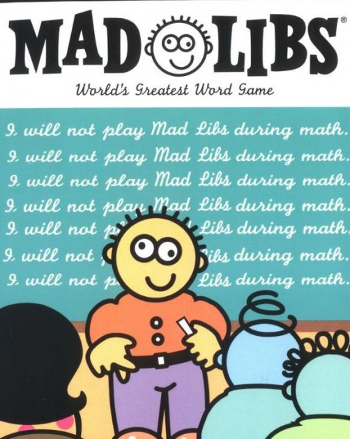 Road Trip Games for Adults - Mad Libs