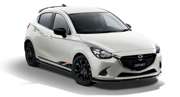 Mazda2- Demio-Racing-Concept-Display-Japan-Production