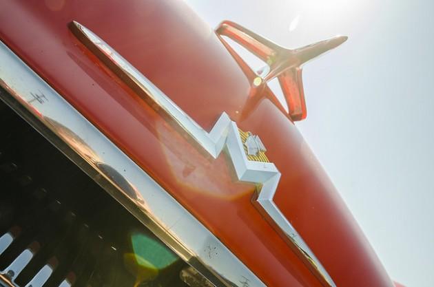 Mercury big M Badge logo