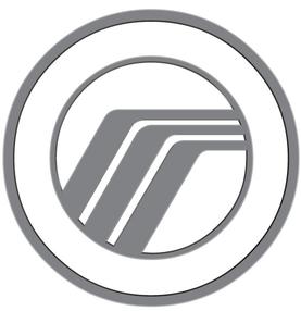 Mercury logo waterfall road hockeystick wing emblem