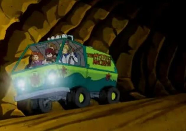 Cartoon Cars - Mystery Machine
