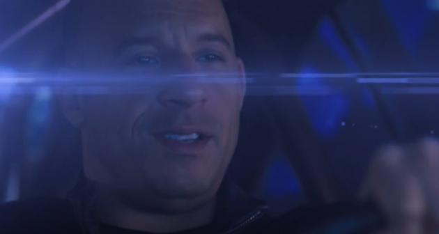 Vin Diesel drives a DeLorean in Fast to the Future