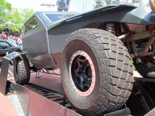 Shaw Jason Statham Fast Attack Buggy front black villain car