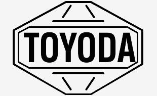 Toyoda original first logo Toyota