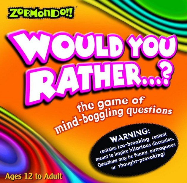 Road Trip Games for Adults - would you rather