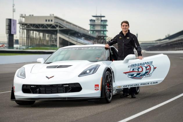 Jeff Gordon to Drive Corvette Z06 Pace Car at Indy 500