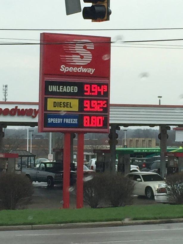 Gas Prices Dayton Ohio >> Rogue Lightning Bolt Raises Gas Prices in Dayton, Ohio
