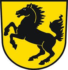 Coat of arms of Stuttgart inspired Porsche logo