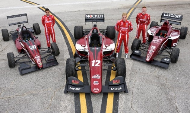 Mazda Road to Indy promotes distracted driving awareness