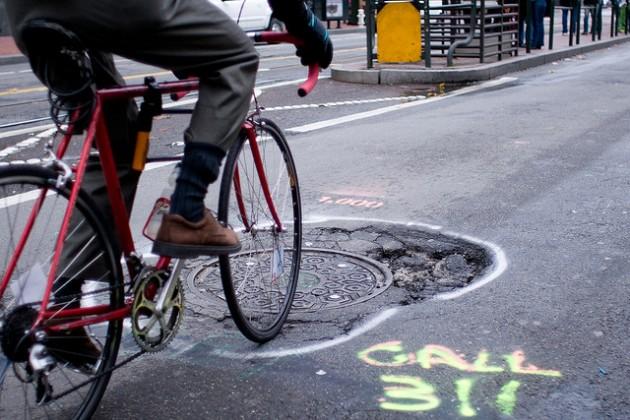 san francisco pothole