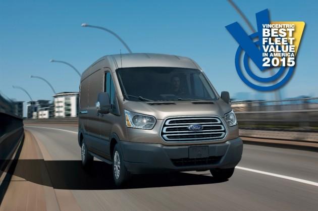 Ford Transit Wins Five Vincentric Best Fleet Value Awards