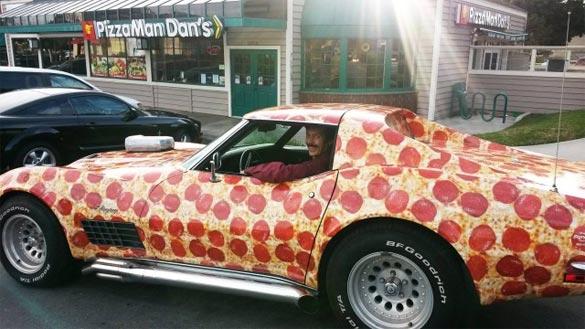 Pizzaman Dan's Corvette