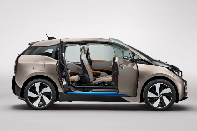 2015 BMW i3 overview front side