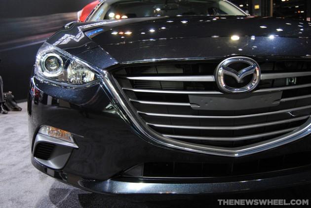 2015 Mazda3 grill