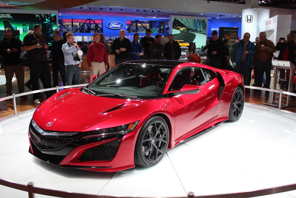2016 Acura Nsx Red The News Wheel