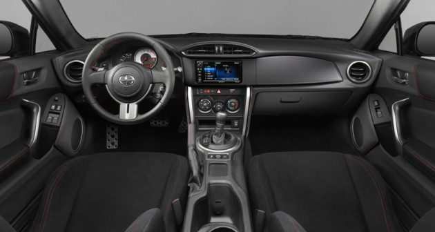 2016 Scion FR-S model overview interior dashboard