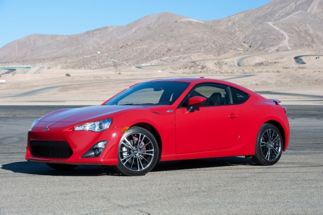 2016 Scion FR-S model overview red front