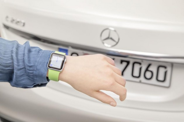 You can now integrate your Apple Watch with your Mercedes-Benz navigation system