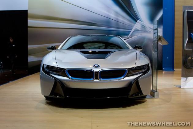 BMW i8 at 2015 Chicago Auto Show rumors