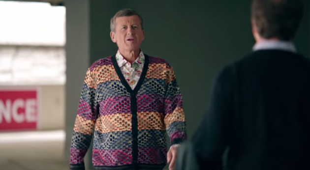 Craig Sager shows his colorful side in a new ad for the Kia Sorento