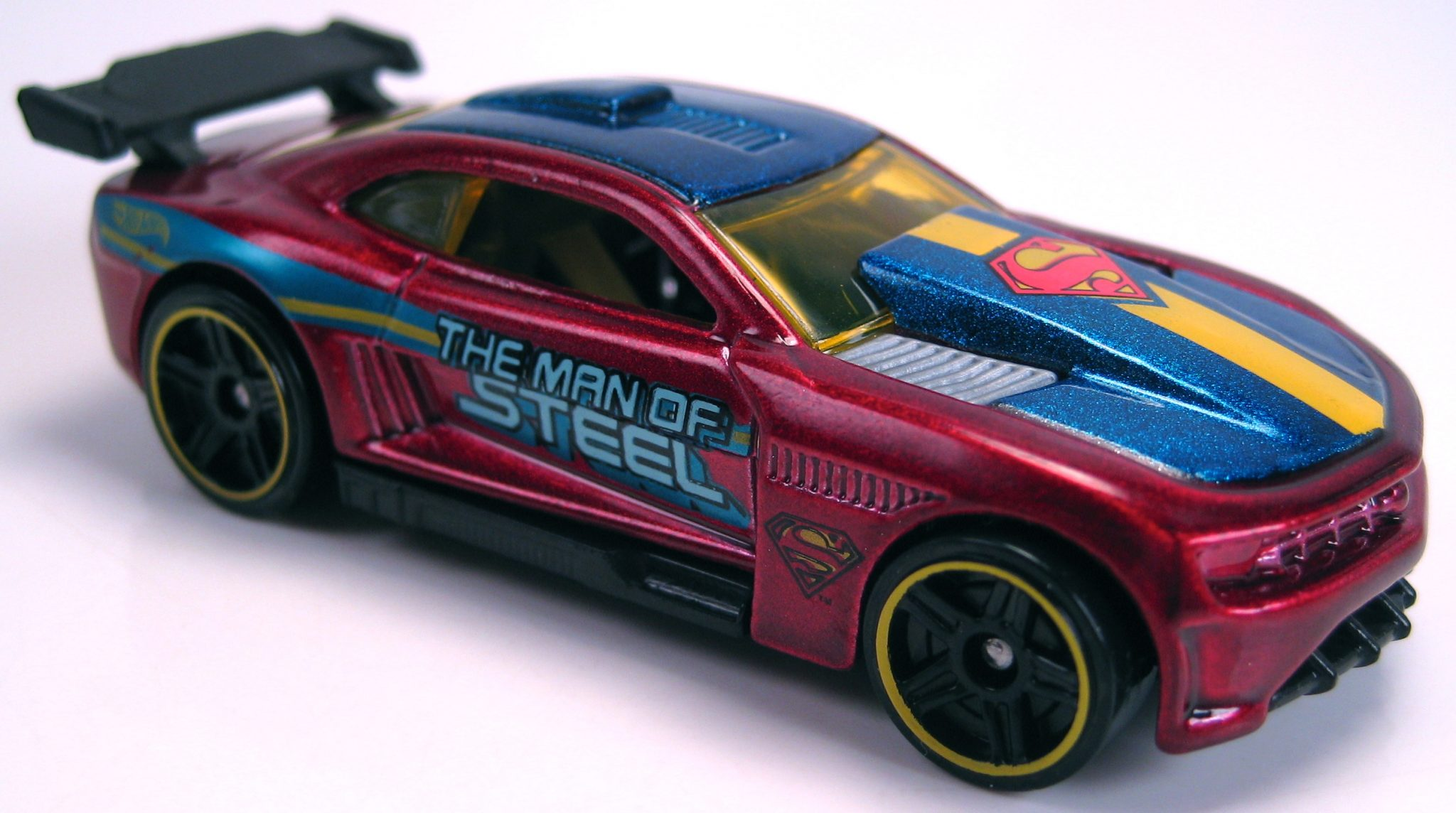 Custom Camaro Superman Man Of Steel