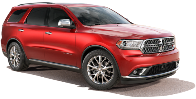 The 2015 Dodge Durango in Deep Cherry Red Crystal Pearl - best exterior colors offered by Dodge