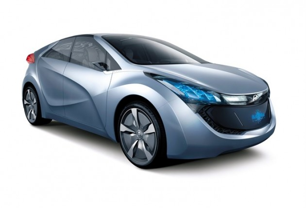 Hyundai Blue-Will Concept car model
