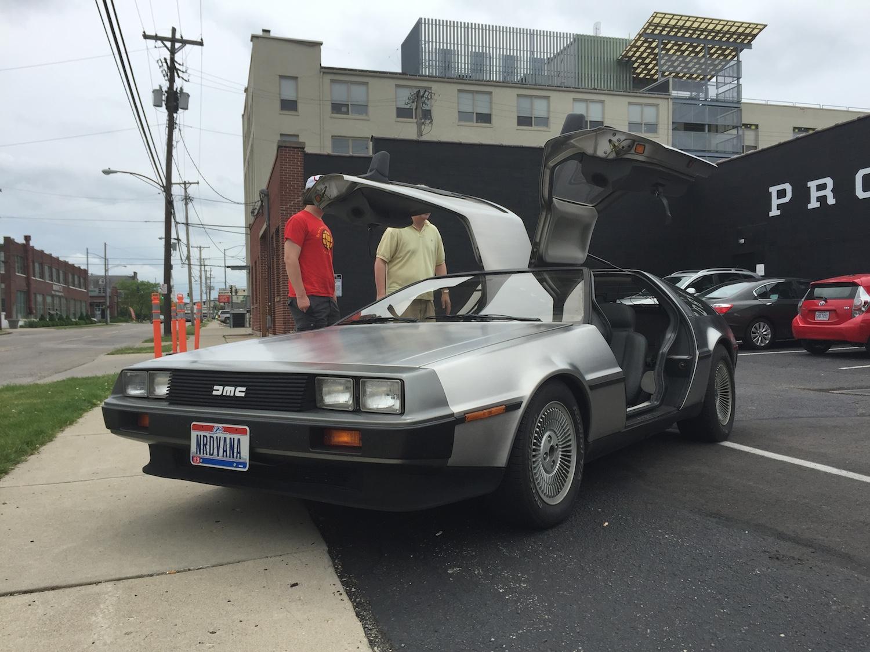 DeLorean at Dayton's Proto BuildBar