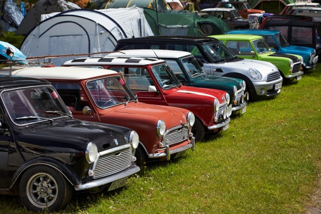 International MINI Meet in Lithuania Draws Hundreds of European Cars