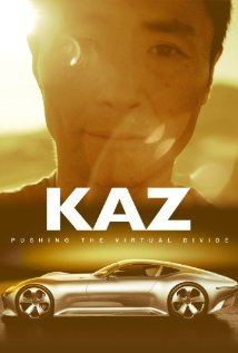 Kaz Pushing the Virtual Divide box cover Gran Turismo documentary