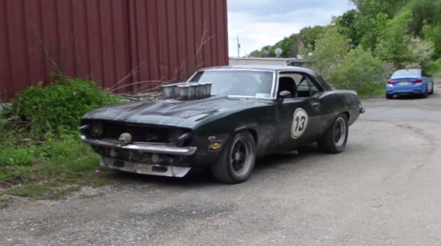 Dirk Vanzuuk's Mad Max-themed 1969 Chevy Camaro