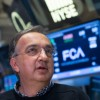 Sergio Marchionne said the auto industry isn't sustainable...at an earnings call with Wall Street experts