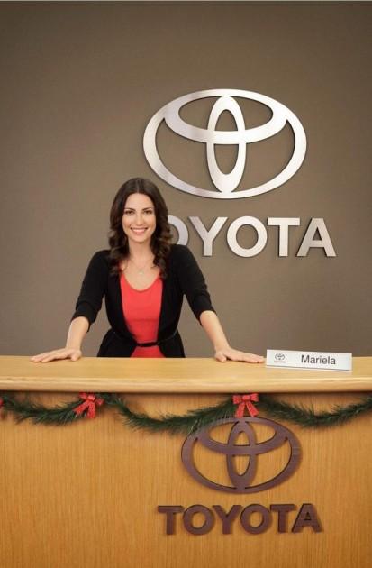 Mariela Is the Latina Toyota Jan Tiffany Diaz actress Spanish