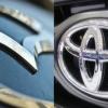 Mazda Toyota logo partnership