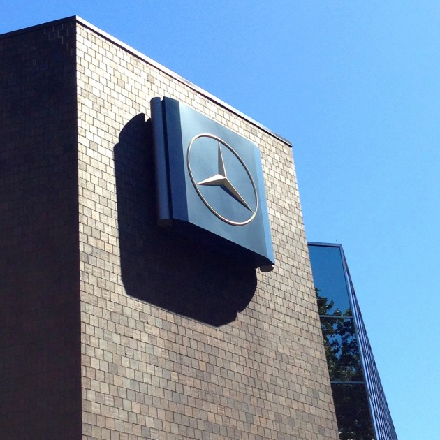 Current Mercedes-Benz USA headquarters in Montvale, New Jersey
