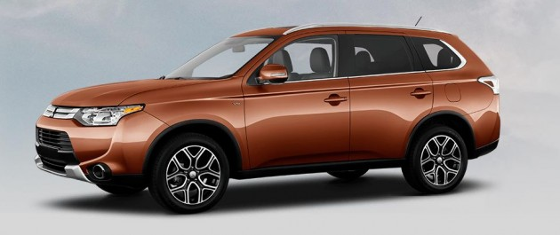 Best exterior colors offered by Mitsubishi: Outlander in Copper