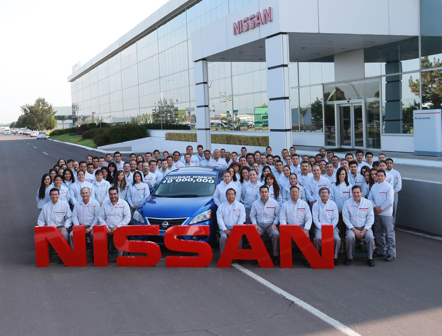 Nissan Produces 10 millionth car in Mexico