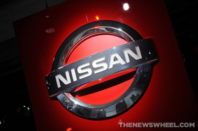 Nissan Logo emblem name badge origin history