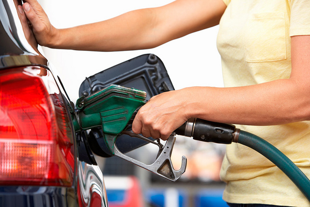 Premium gasoline benefits gas pump