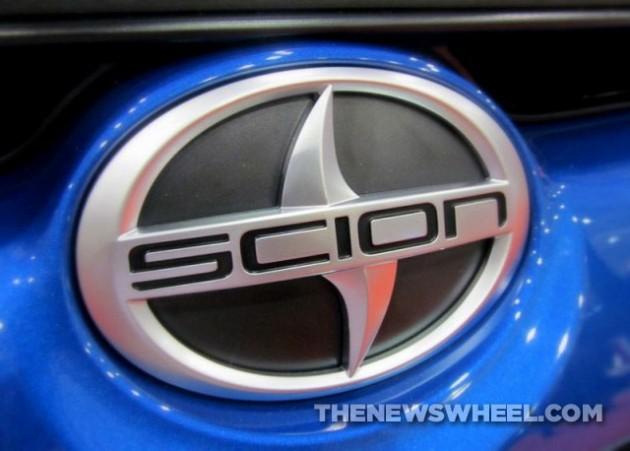Scion logo meaning badge emblem Toyota name