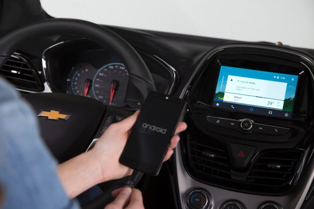 2016 Chevy Spark with Android Auto capability